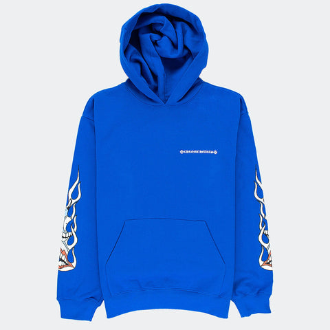 Chrome Hearts x Matty Boy Space Blue Hoodie