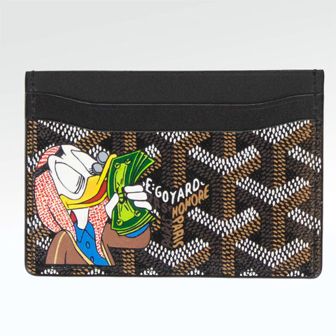 Goyard Sulpice Custom Black Card Holder