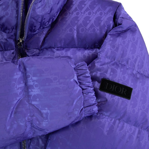 Dior Oblique Blouson Purple Jacket