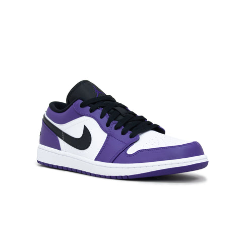 Air Jordan 1 Court Purple Low Sneaker