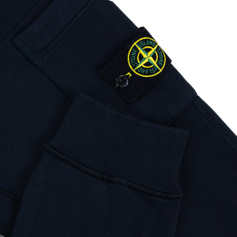 Stone Island Navy Badge Jogging Bottoms