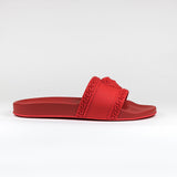 Versace Medusa Slides Red