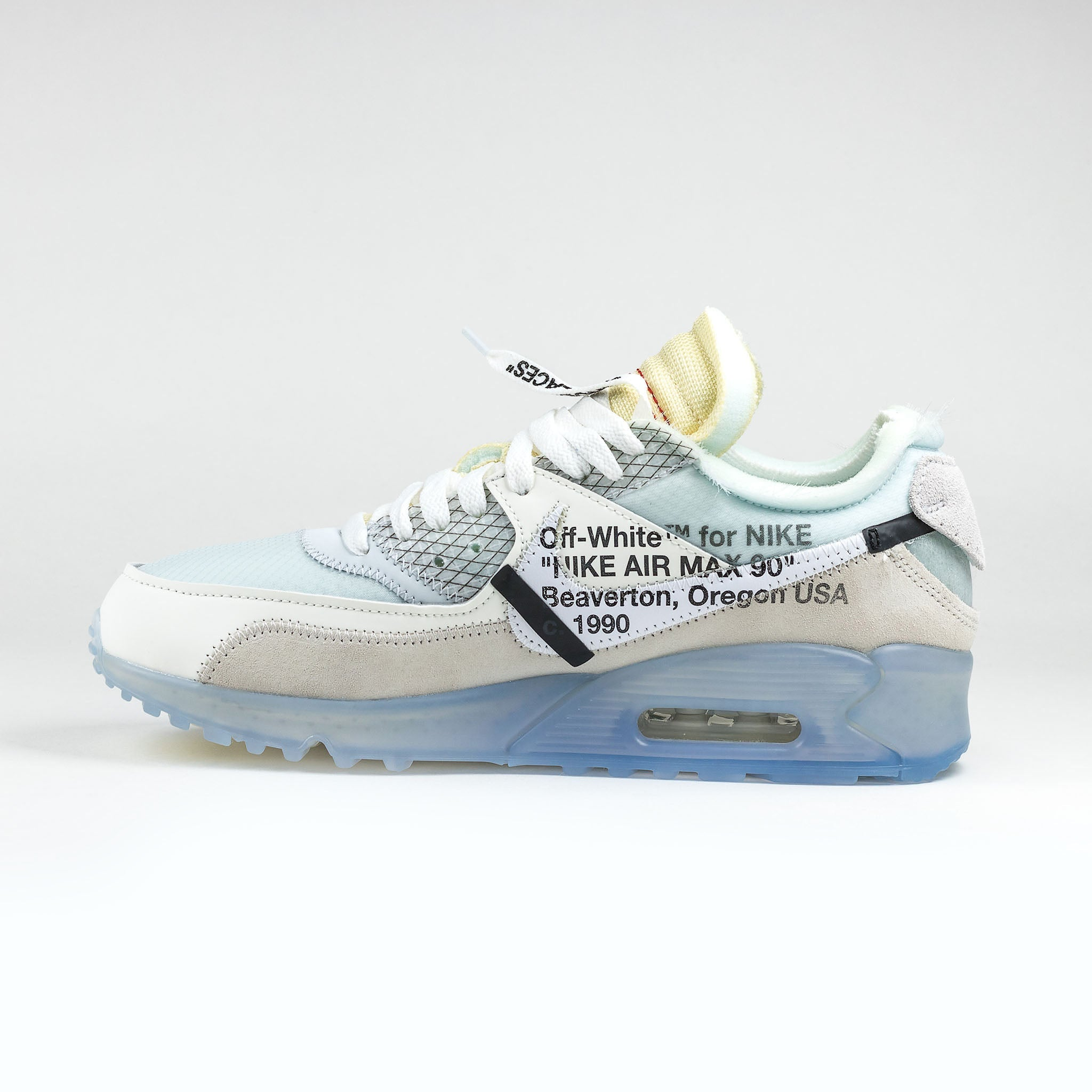 sports shoes cc74e c1470 Nike x Off White Air Max 90 White