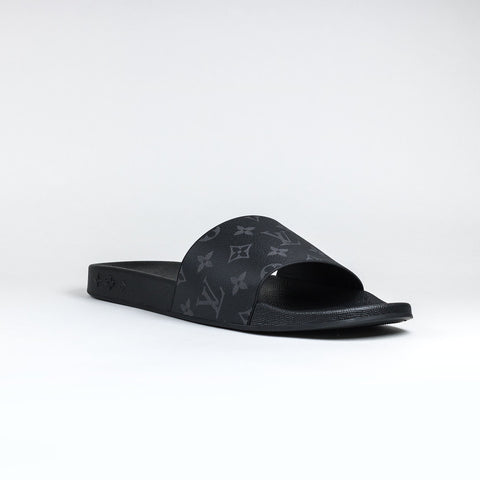 Louis Vuitton Eclipse Monogram Waterfront Mule Slides