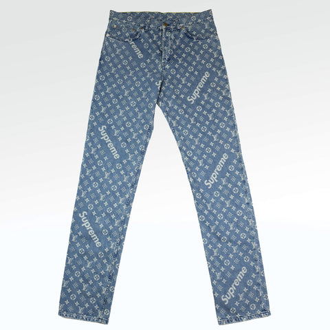 Monogram Regular Jeans