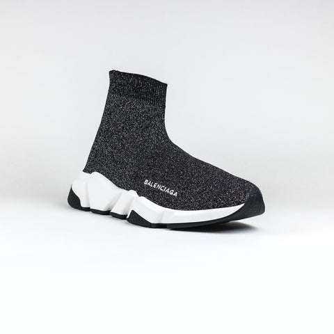Balenciaga  Speed Knit Sock Glitter