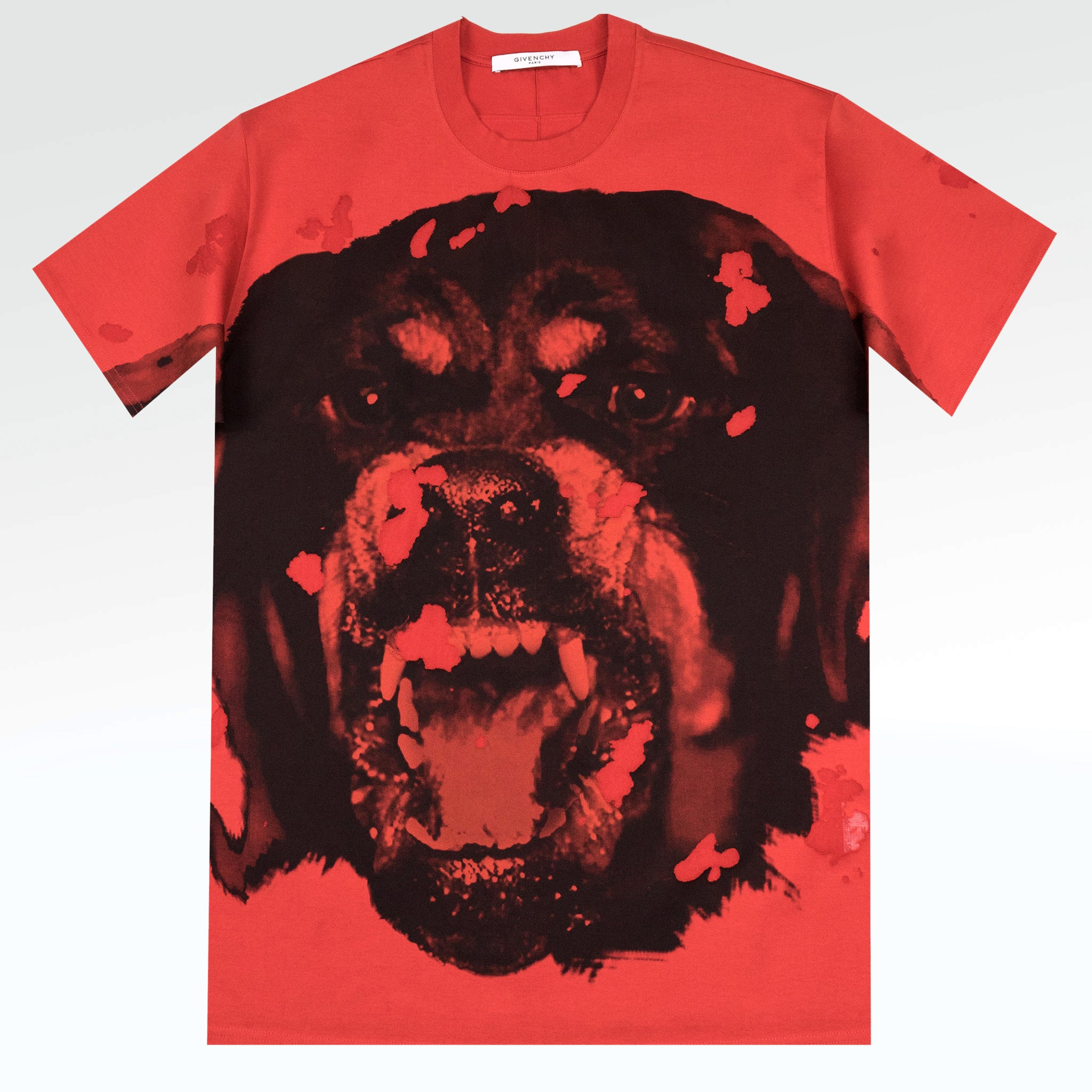 9caddd6f Givenchy Paris Rottweiler Distressed T Shirt – Crepslocker