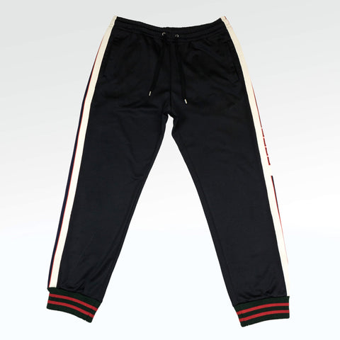 Gucci Technical Jersey Sweatpants Black