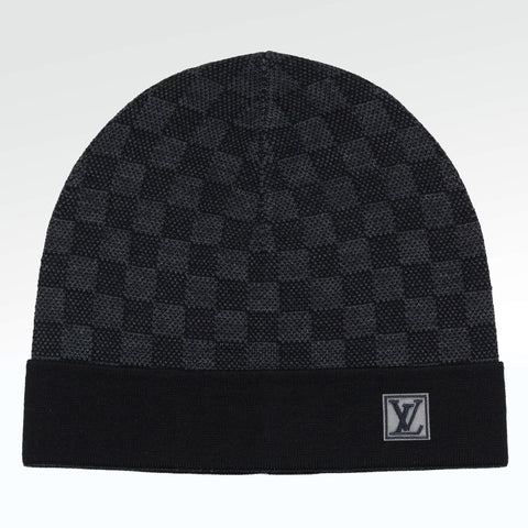 Louis Vuitton Petit Damier Hat Black