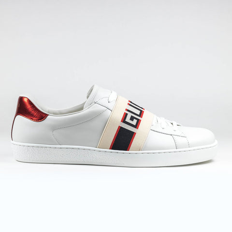 Gucci Ace Band Logo White Sneaker