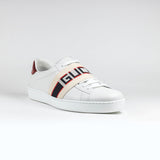 Ace Band Logo Sneaker White