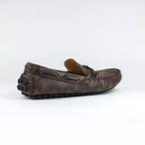 Louis Vuitton Arizona Brown Monogram Moccasins