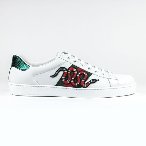 Ace Snake Embroidered Sneaker