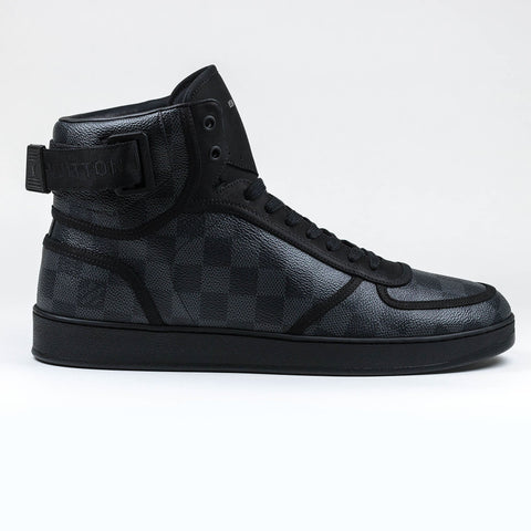 Louis Vuitton Damier Rivoli High Sneaker