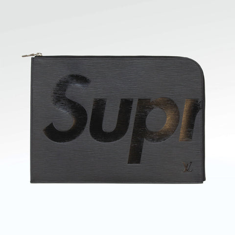 Supreme x Louis Vuitton Pochette Jour Gm Black