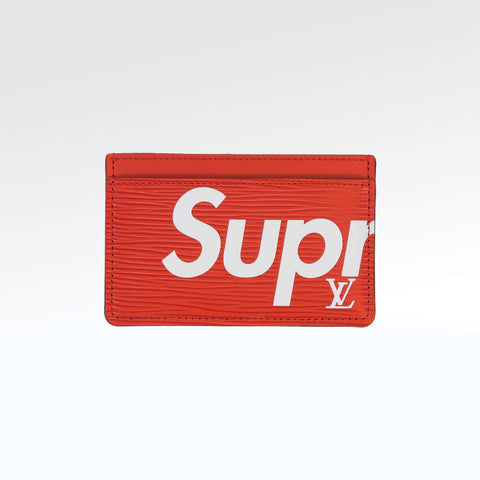32e8004eab2e Supreme x Louis Vuitton Porte Carte Simple Card Holder – Crepslocker