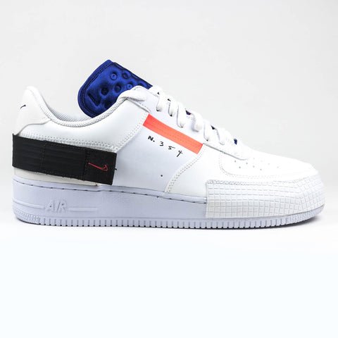 Nike Air Force 1 Type Summit Red Orbit White Sneaker