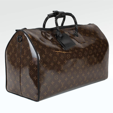 Louis Vuitton Monogram Glaze Keepall 50 Brown