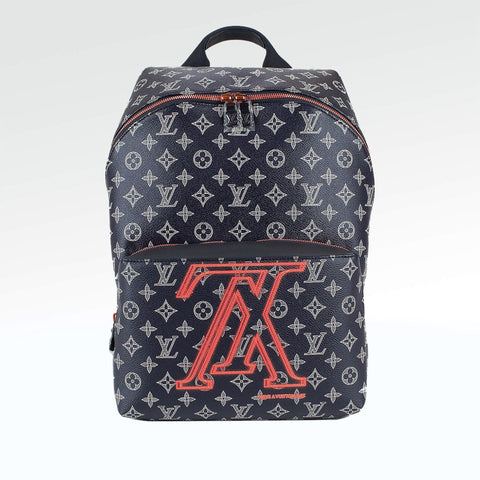7b8798afb808 Louis Vuitton Apollo Monogram Ink Upside Down Backpack – Crepslocker