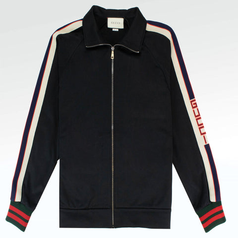 Gucci Technical Jersey Jacket Black