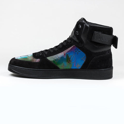 Louis Vuitton Rivoli Iridescent Monogram Trainer Boot