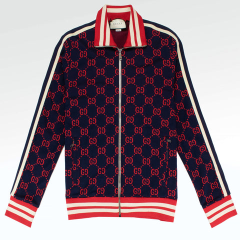 Gucci GG Jacquard Tracksuit Red