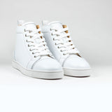 Christian Louboutin Louis Flat Calf Leather White