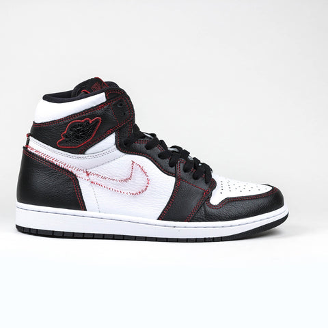 separation shoes c2098 cf82a Nike Air Jordan 1 Retro High Defiant White Black Gym Red