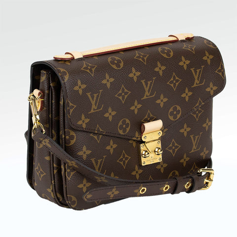 Louis Vuitton Monogram Brown Pochette Metis