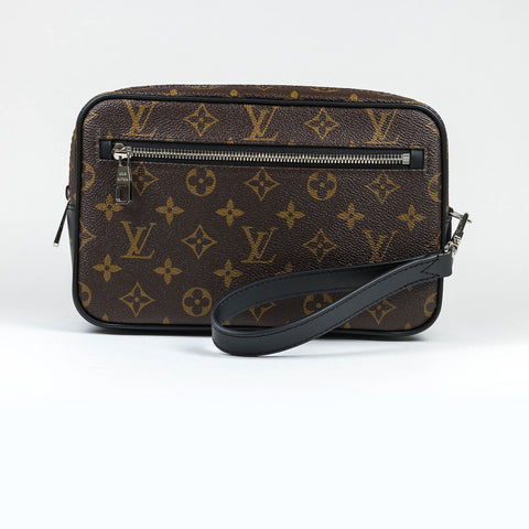 Louis Vuitton Kasai Monogram Brown Clutch