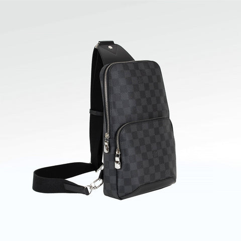 Louis Vuitton Damier Black Avenue Sling Bag