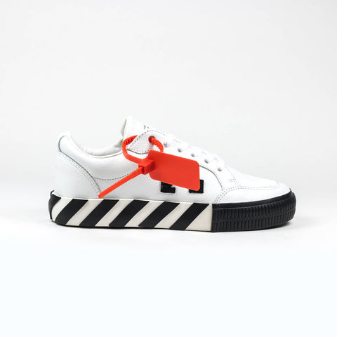Off-White Vulcanised White Leather Sneaker