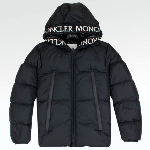 Moncler Montclar Padded Down Jacket Black