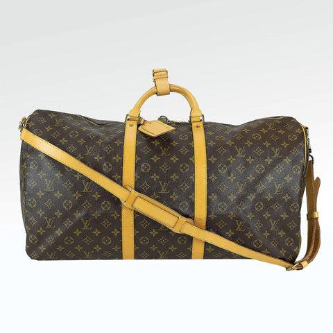 Louis Vuitton Monogram Brown Keepall 60