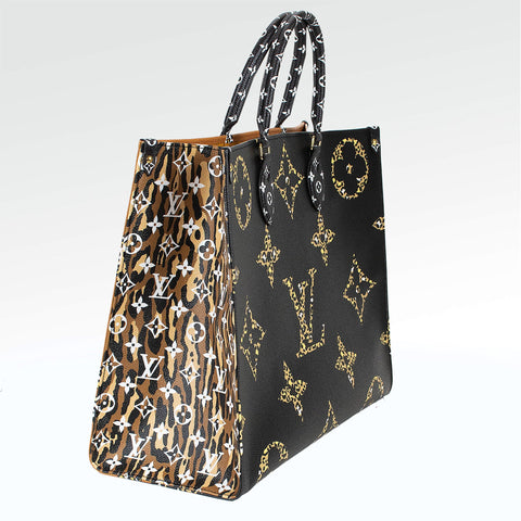 Louis Vuitton ONTHEGO Monogram Jungle Bag
