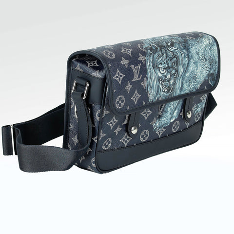 Louis Vuitton Chapman Brothers Lion Messenger Bag