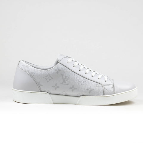 Louis Vuitton White Monogram Grey Matchup Sneaker
