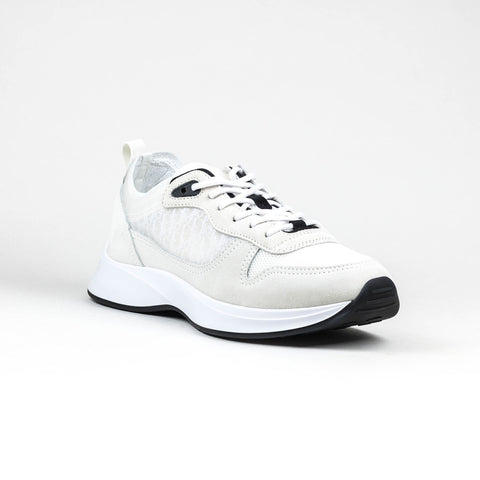 Dior B25 Oblique White Suede Runner