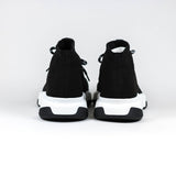 Balenciaga Speed Knit Lace Sock Black White