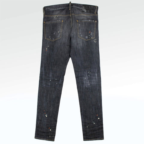 Dsquared2 Distressed Cool Guy Paint Jeans