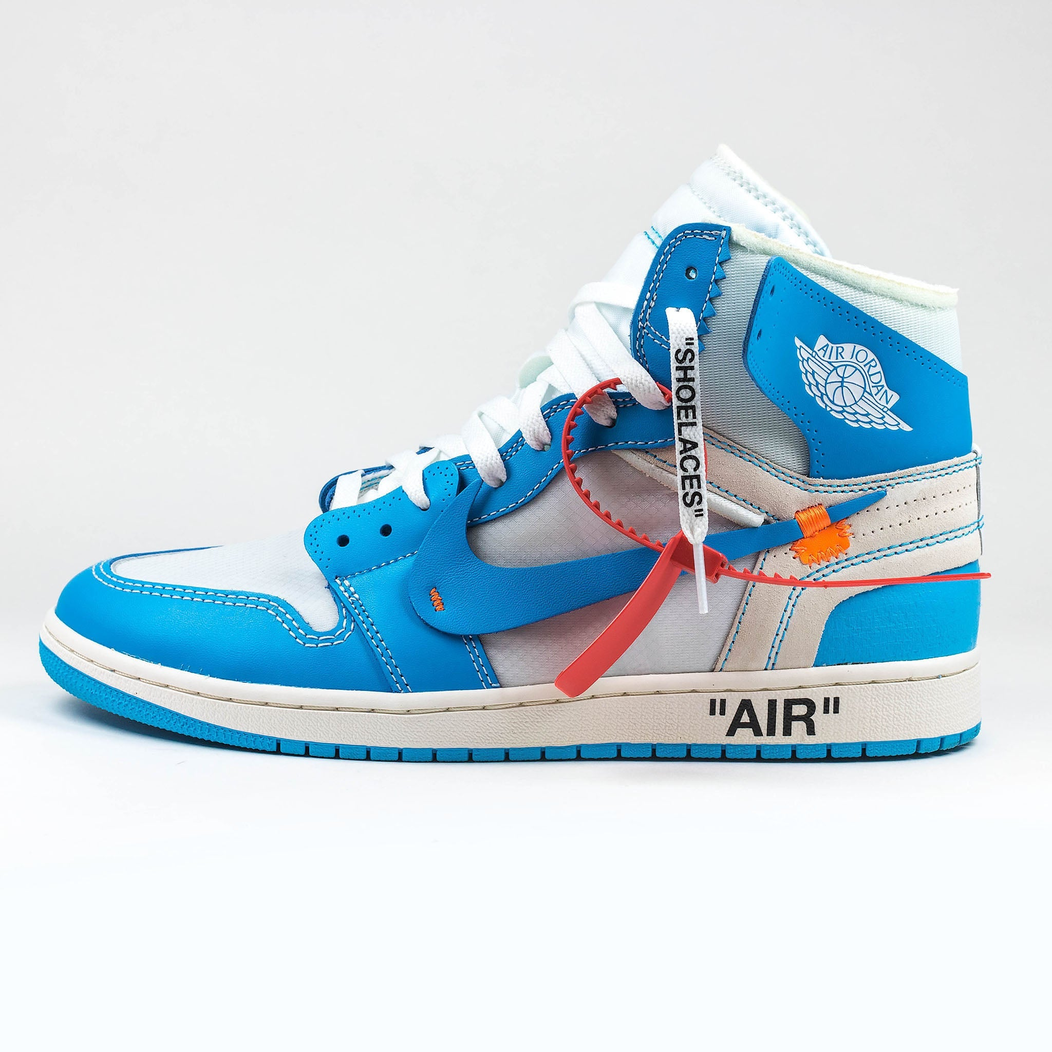 best service 3f9a2 e059b Nike x Off White Air Jordan 1 UNC University Blue