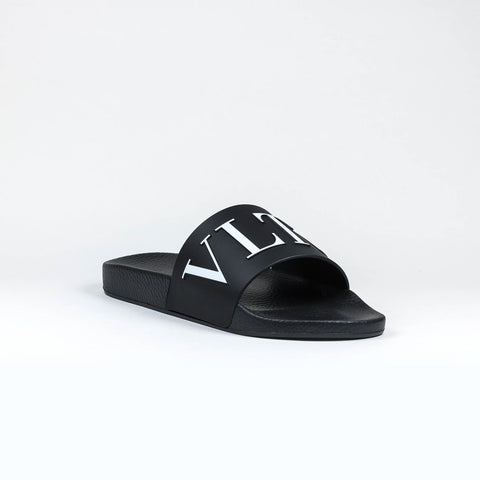 Valentino VLTN Black Pool Slides