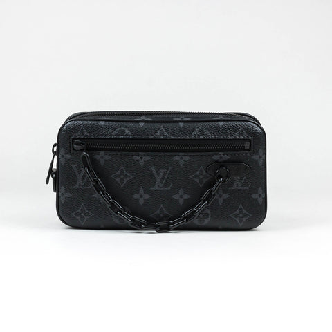 Louis Vuitton Monogram Eclipse Pochette Volga