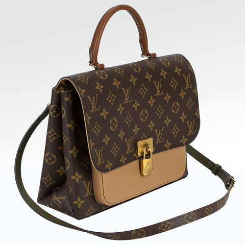 Louis Vuitton Marignan Monogram Brown Handbag