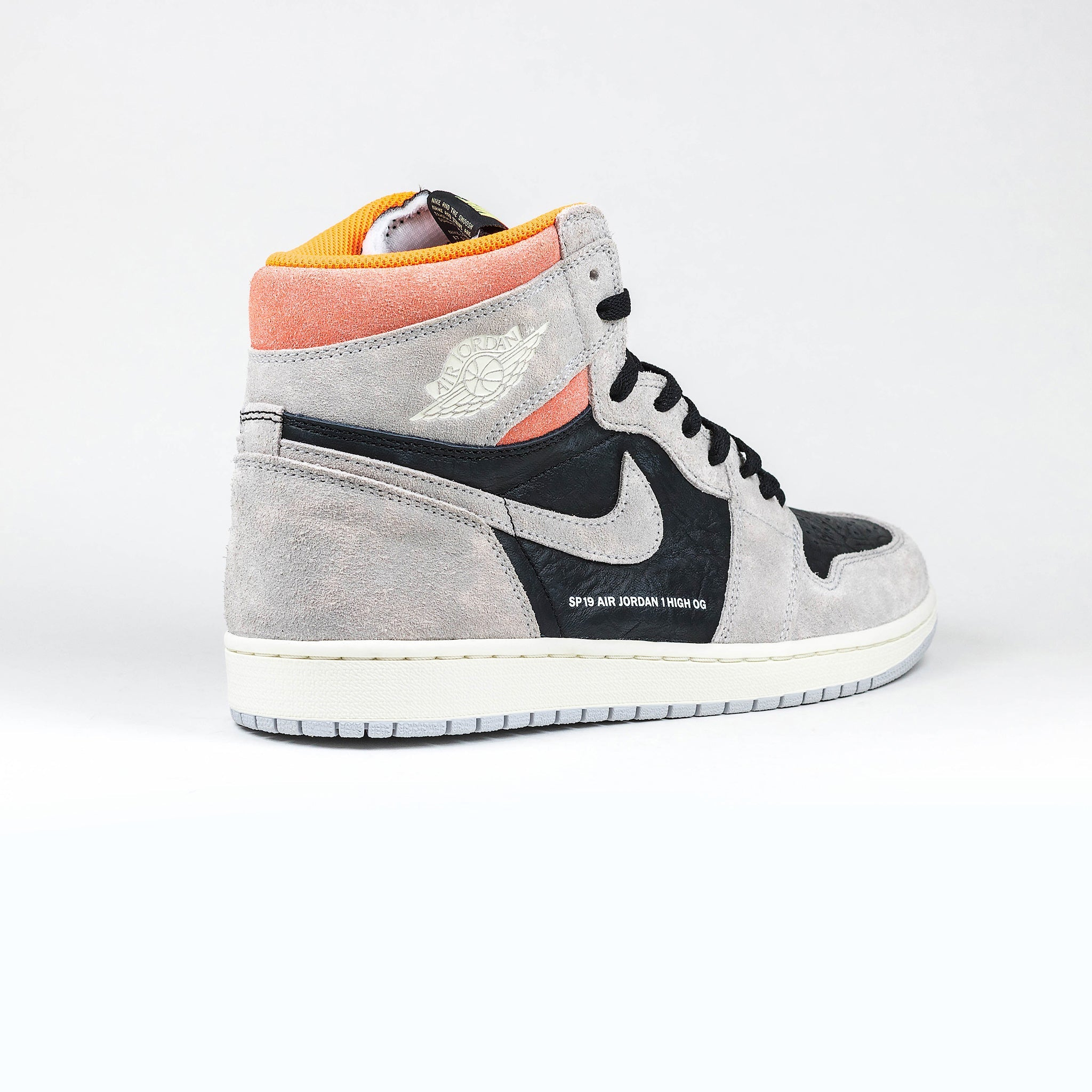 916c16537 Nike Air Jordan 1 Retro High Neutral Grey Hyper Crimson – Crepslocker