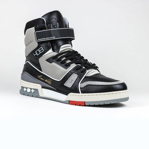 Louis Vuitton LV Black Grey Virgil Boot