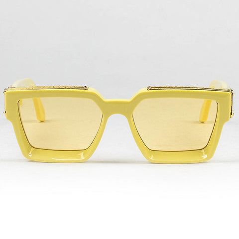 Louis Vuitton Eyewear 1.1 Millionaires Yellow Sunglasses