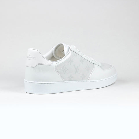 Louis Vuitton White Monogram Transparent Rivoli Sneaker