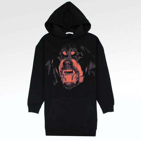 Givenchy Paris Rottweiler Supersized Hoodie