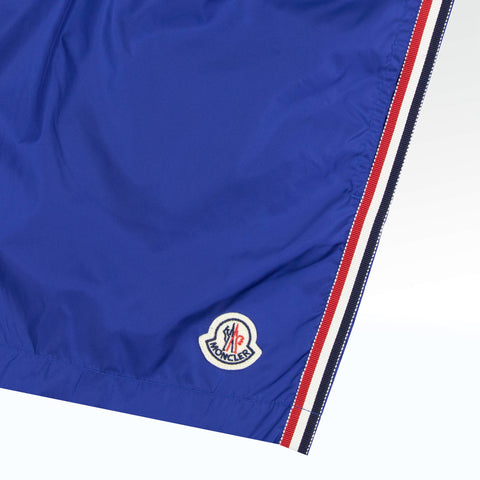 Moncler Electric Blue Shell Swim Shorts